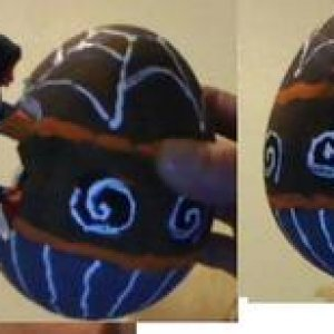Easter Egg made from HalloweenTown made by the best eggs from the monster under your bed.