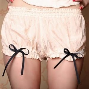 Madeleine bloomers knickers bows- aka witch panties