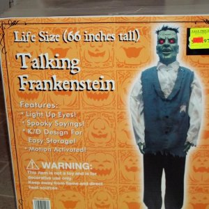 Box for Frankenstein