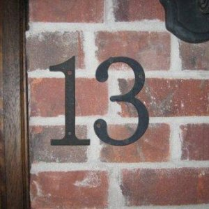 THIS IS REALLY OUR HOUSE NUMBER. SCARY STUFF...