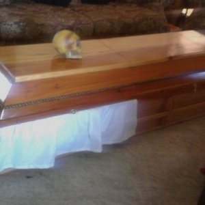 Another Coffin in the living room