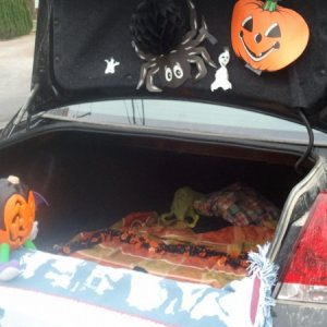 One of the other trunks at the Trunk-r-Treat