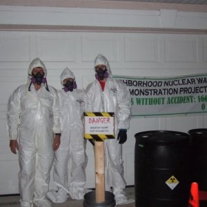 "The ""Hauntington"" Nuclear Regulatory Team responding to a spill."